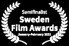 Semifinalist Sweden Film Awards - January-February 2021